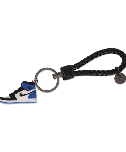 """Handcrafted AJ1 """"Fragment"""" 3D Sneaker Keychain with Box/Bag"""