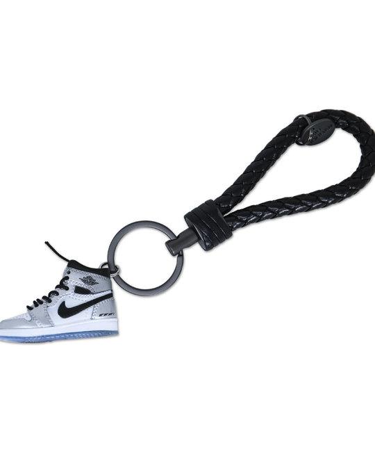 "Handcrafted AJ1 ""Kawhi Leonard"" 3D Sneaker Keychain with Box/Bag"