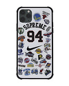 Hypebeast Supreme NBA Collaboration Inspired iPhone Case Cover