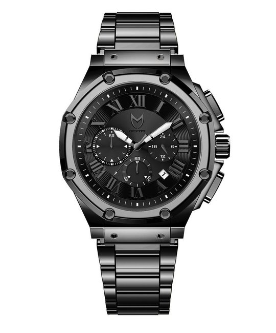 MEISTER AMBASSADOR POLISHED TITANIUM WATCH