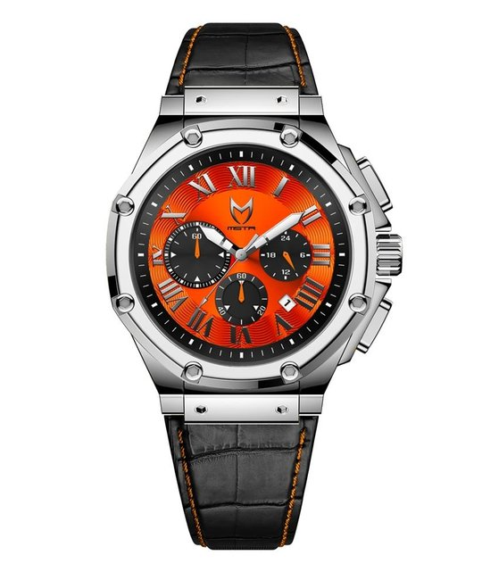 MEISTER AMBASSADOR SEMI POLISHED SILVER WATCH