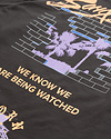 BORN AND RAISED  BEING WATCHED L/S TEE