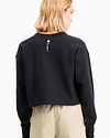 HANES BRAND CHAMPION EUROPE WOMENS REVERSE WEAVE CROPPED CREW