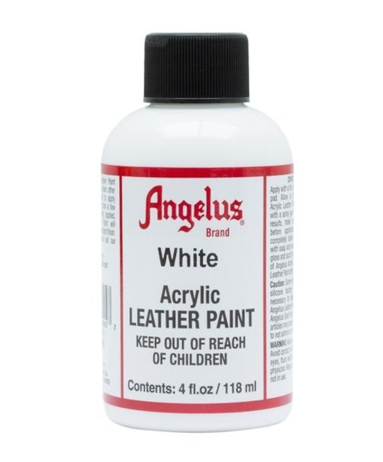 ANGELUS DIRECT ANGELUS SNEAKER PAINT White 4 OZ