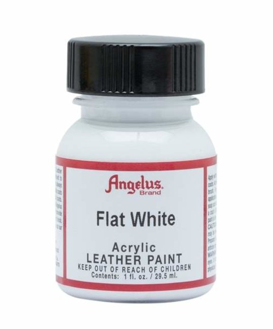 ANGELUS DIRECT ANGELUS SNEAKER PAINT Flat White 1 OZ