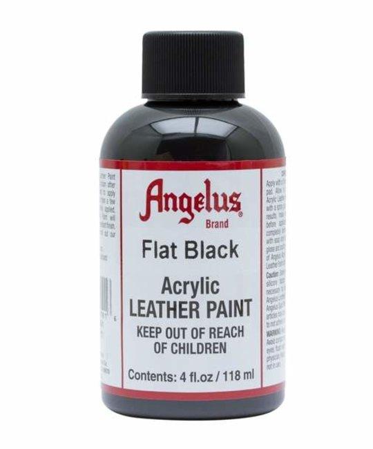 ANGELUS DIRECT ANGELUS SNEAKER PAINT Flat Black 4 OZ