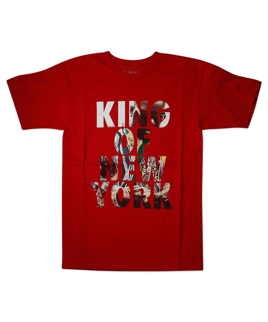 ALL THE RIGHT ALL THE RIGHT KING OF NY T-SHIRT