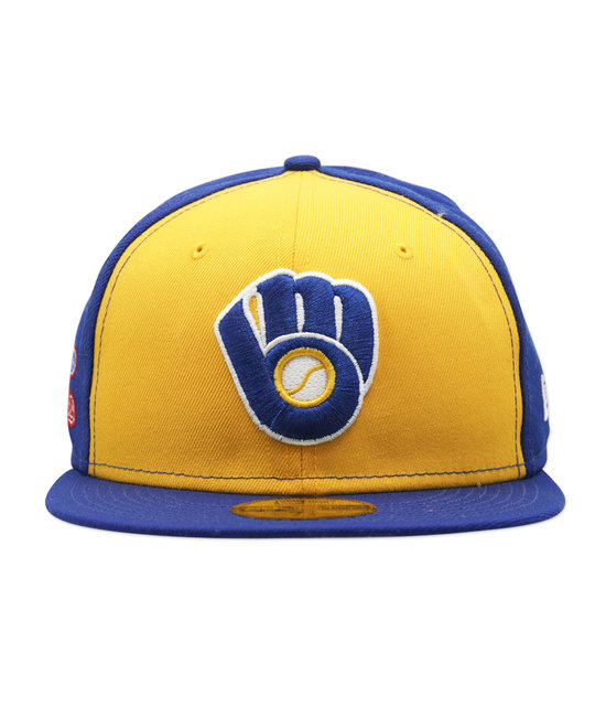 NEW ERA NEW ERA MILWAUKEE BREWERS WORLD SERIES 1982 PATCH