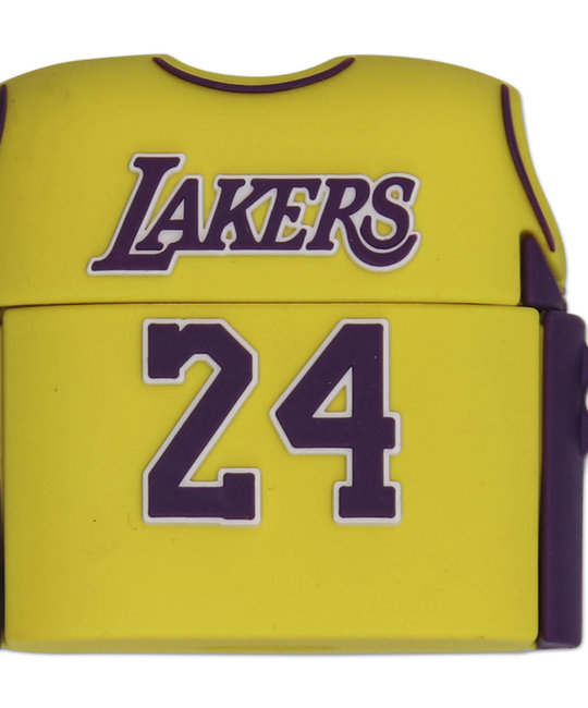 KICKSMINI KOBE LAKERS 24 JERSEY INSPIRED AIR PODS PRO CASE