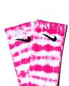 TYE DYE SOCKS - Hot Pink Stripe