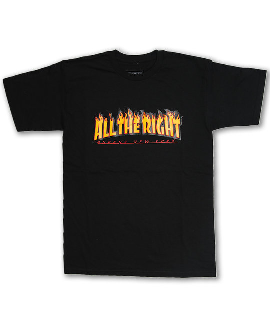 ALL THE RIGHT THRASHER TEE