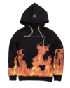 IHS IHS FLAMES HOODIE