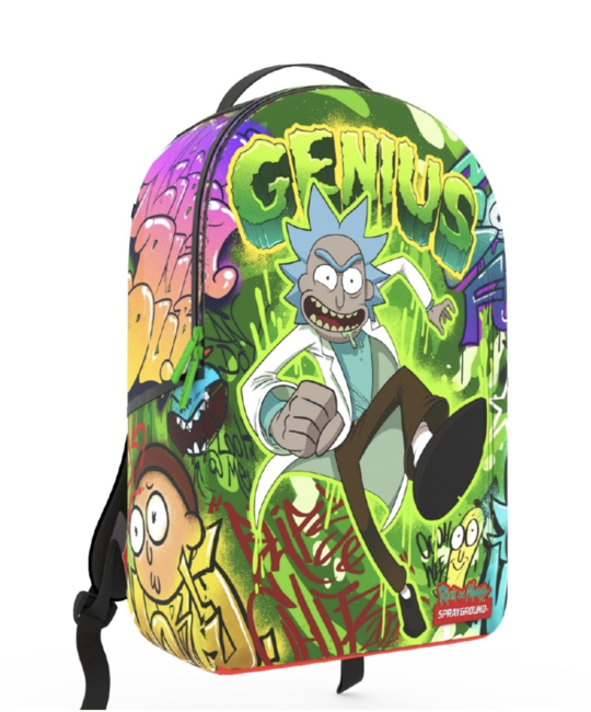 SPRAYGROUND RICK AND MORTY: GENIUS BACKPACK