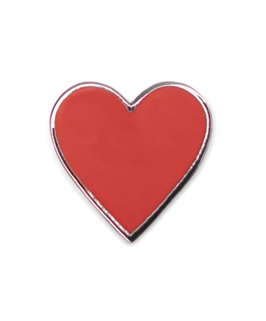 HDQTRS NYC HEART HAT PIN