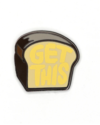 HDQTRS NYC GET THIS BREAD HAT PIN