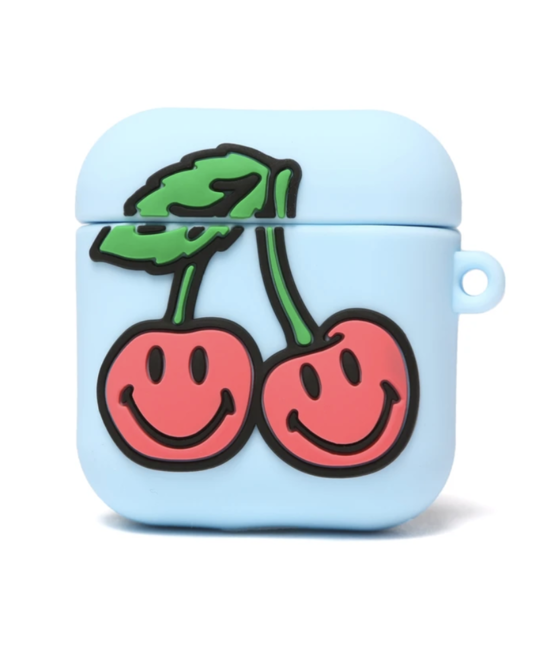 CHINATOWN SMILEY CHERRY AIRPOD CASE