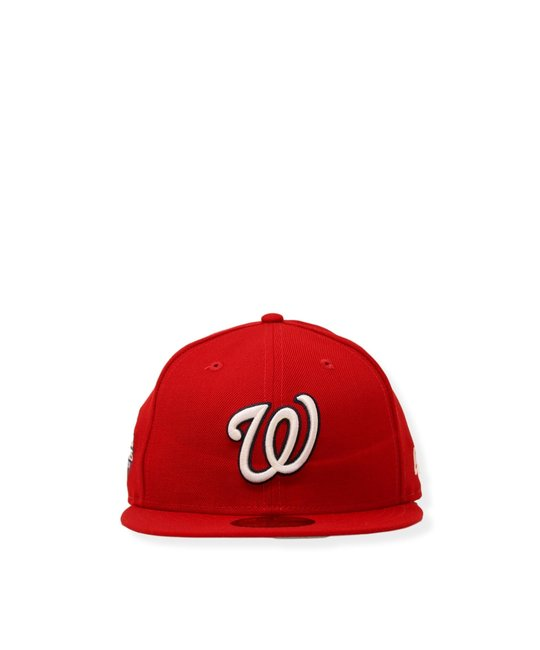 NEW ERA NEW ERA WASHINGTON NATIONALS WS 2019 PATCH FITTED