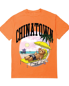 CHINATOWN MARKET CHINATOWN SMILEY BEACH BEAR T-SHIRT