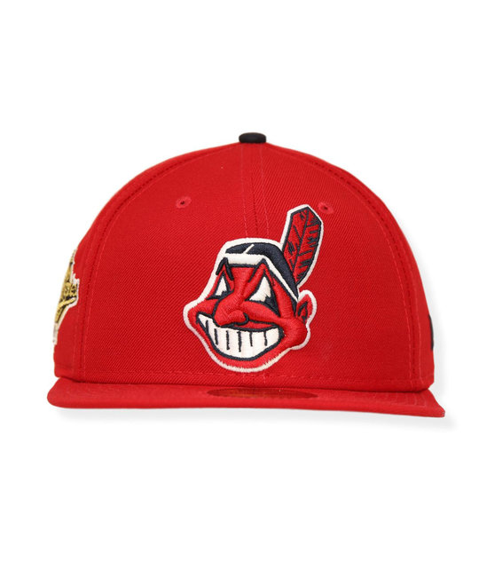 NEW ERA NEW ERA CLEVLAND INDIANS WS 1995 PATCH FITTED