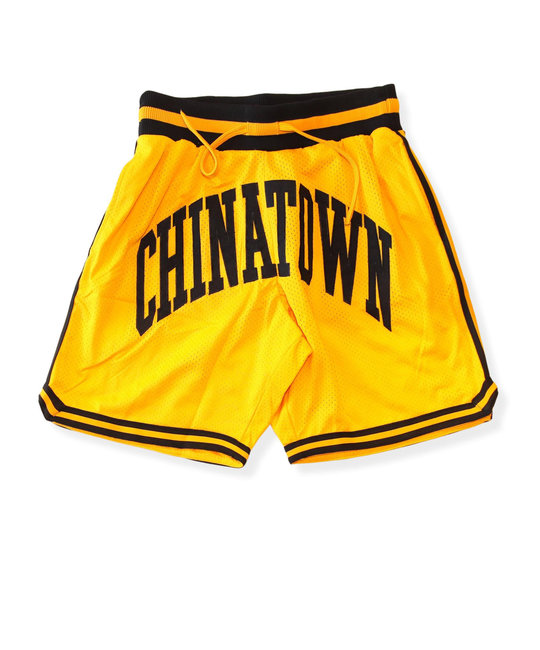 CHINATOWN MARKET SMILEY BASKETBALL SHORTS