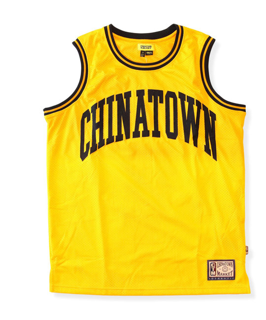 CHINATOWN MARKET SMILEY BASKETBALL JERSEY