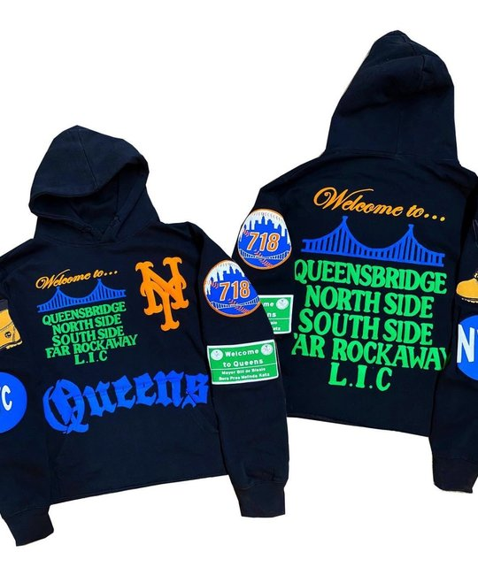 QUEENS BRIDGE QUEENS BRIDGE HOODIE