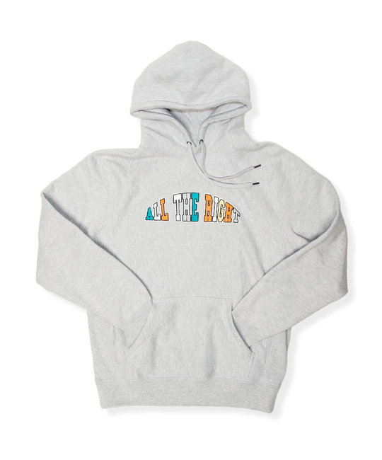ALL THE RIGHT IN THE PAINT HOODIE