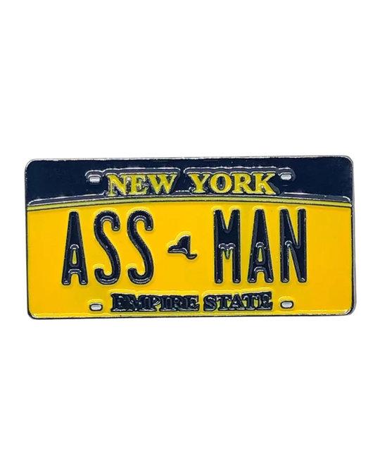 TRIPPY PINS Assman NY Pin