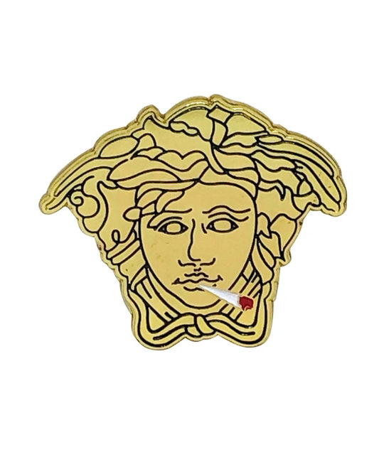 TRIPPY PINS 420 Medusa Pin