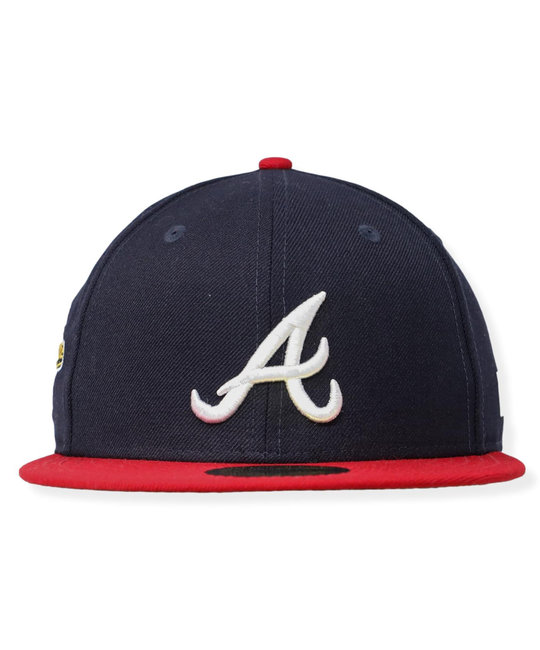 NEW ERA ATLANTA BRAVES WS 1995 PATCH FITTED