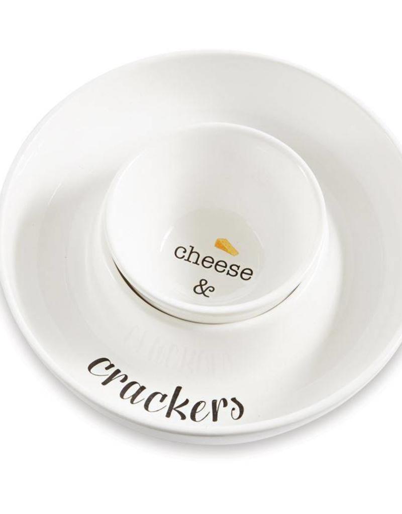 Mudpie CRACKER & CHEESE SERVING SET