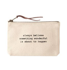 Mudpie MUD Always Canvas Pouch