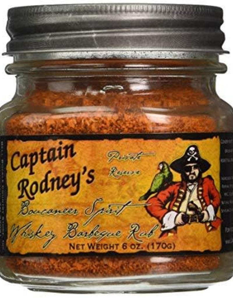 Bell Buckle Country Store Captain Rodney's Private Reserve - Boucaneer Spirit Whiskey Barbeque Rub