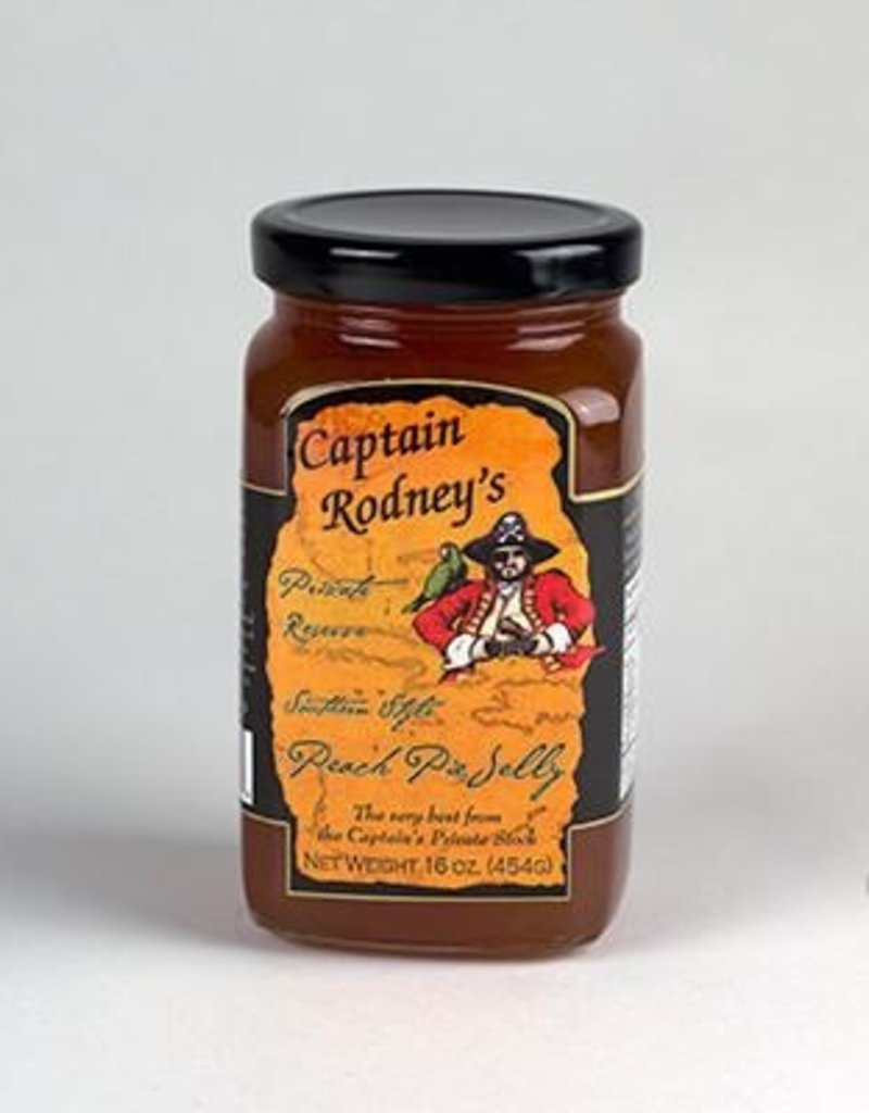 Bell Buckle Country Store Captain Rodney's Private Reserve - Peach Pie Jelly