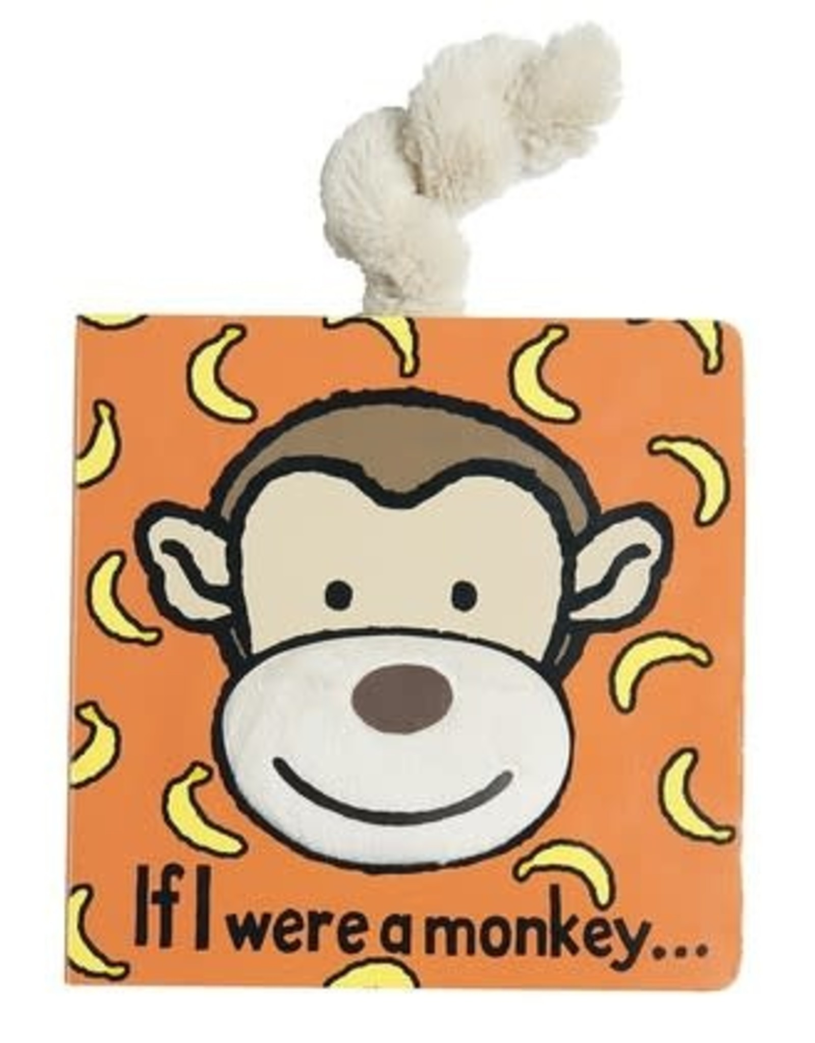 Jellycat Bashful Monkey Book