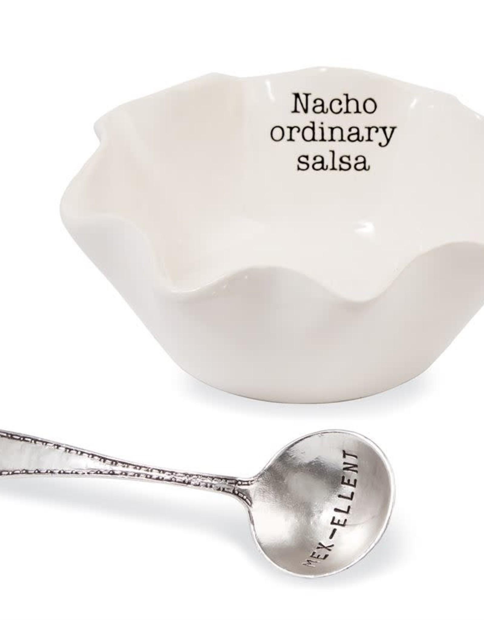 Mudpie Salsa Dip Cup Set