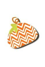 Coton Colors Happy Everything Chevron Pumpkin Mini Attachment