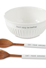Mudpie Salad & Utensil Set