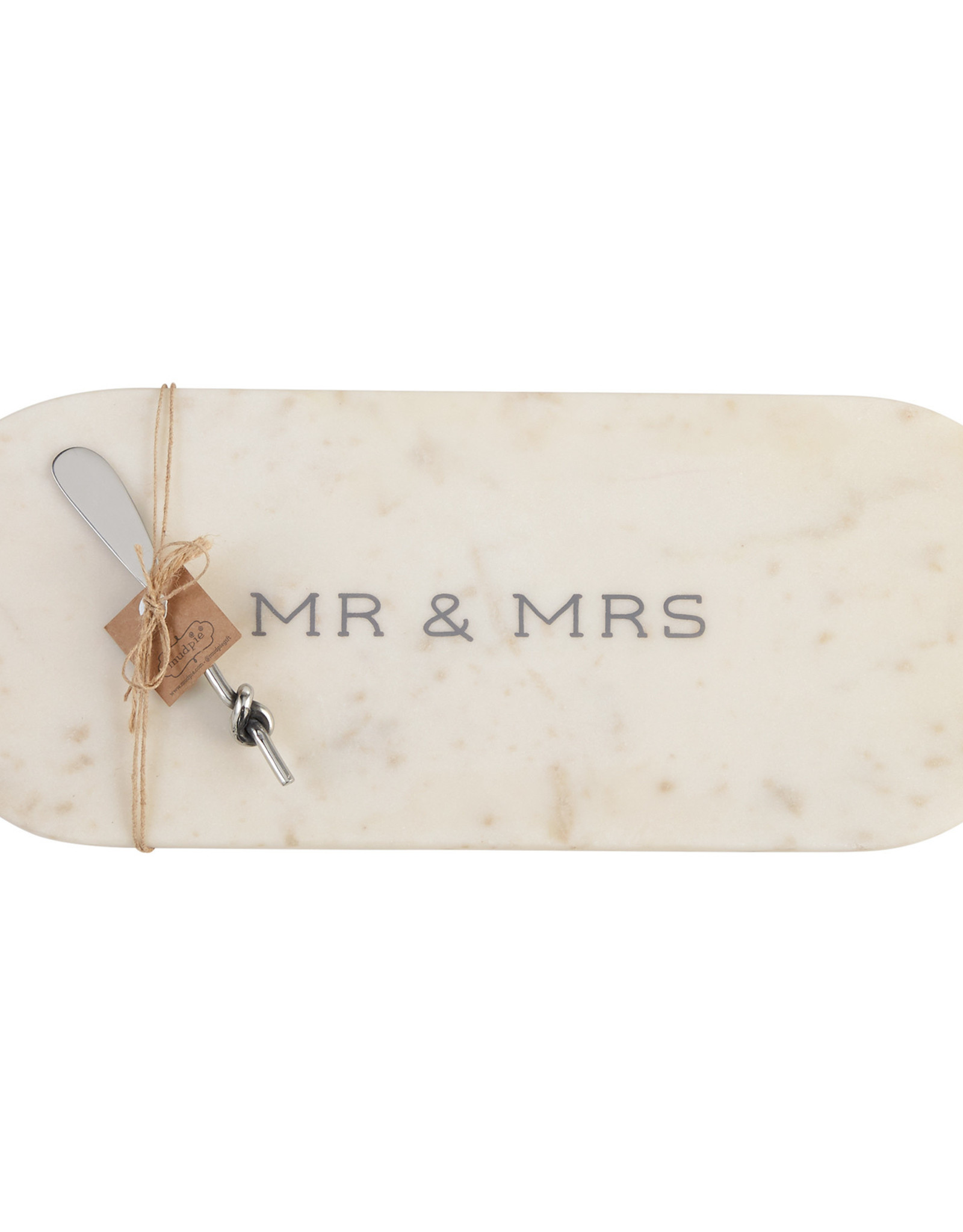 Mudpie Mr. & Mrs. Marble Cutting Board
