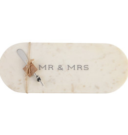 Mr. & Mrs. Marble Cutting Board