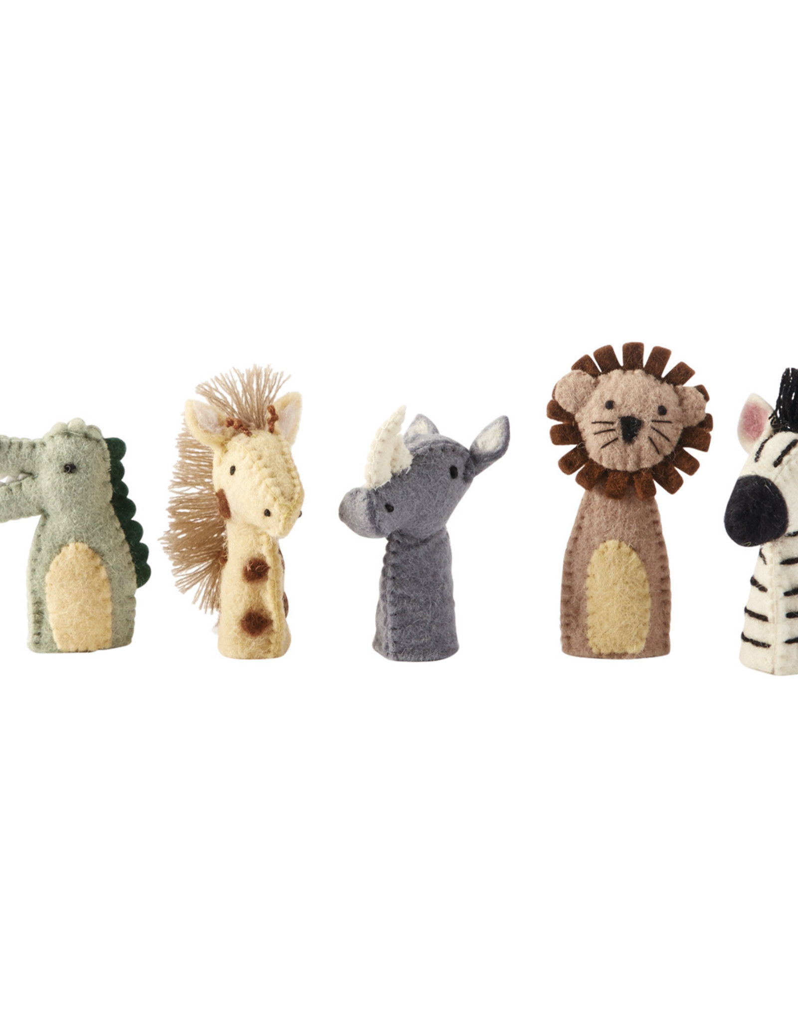 Mudpie Safari Finger Puppets