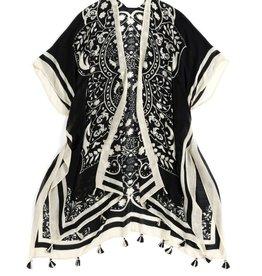 Black Diva Kimono