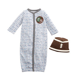 Football Baby Gown