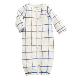 Plaid Baby Gown