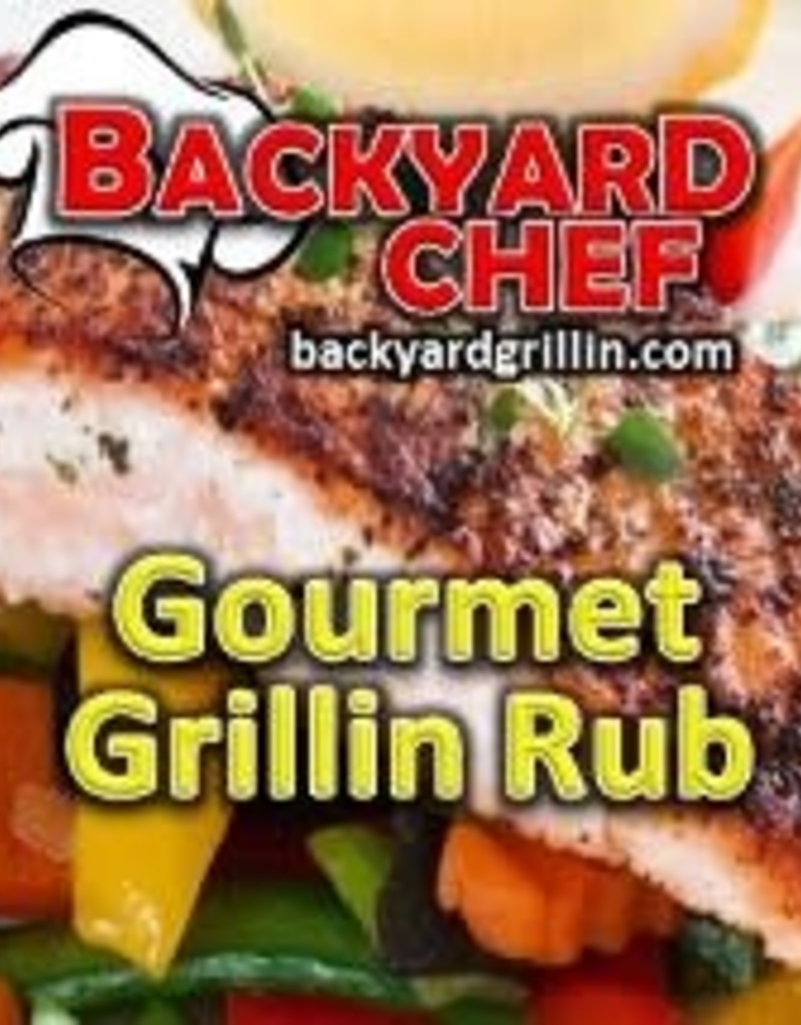 Backyard Chef Gourmet Grillin' Rub - 13 oz.
