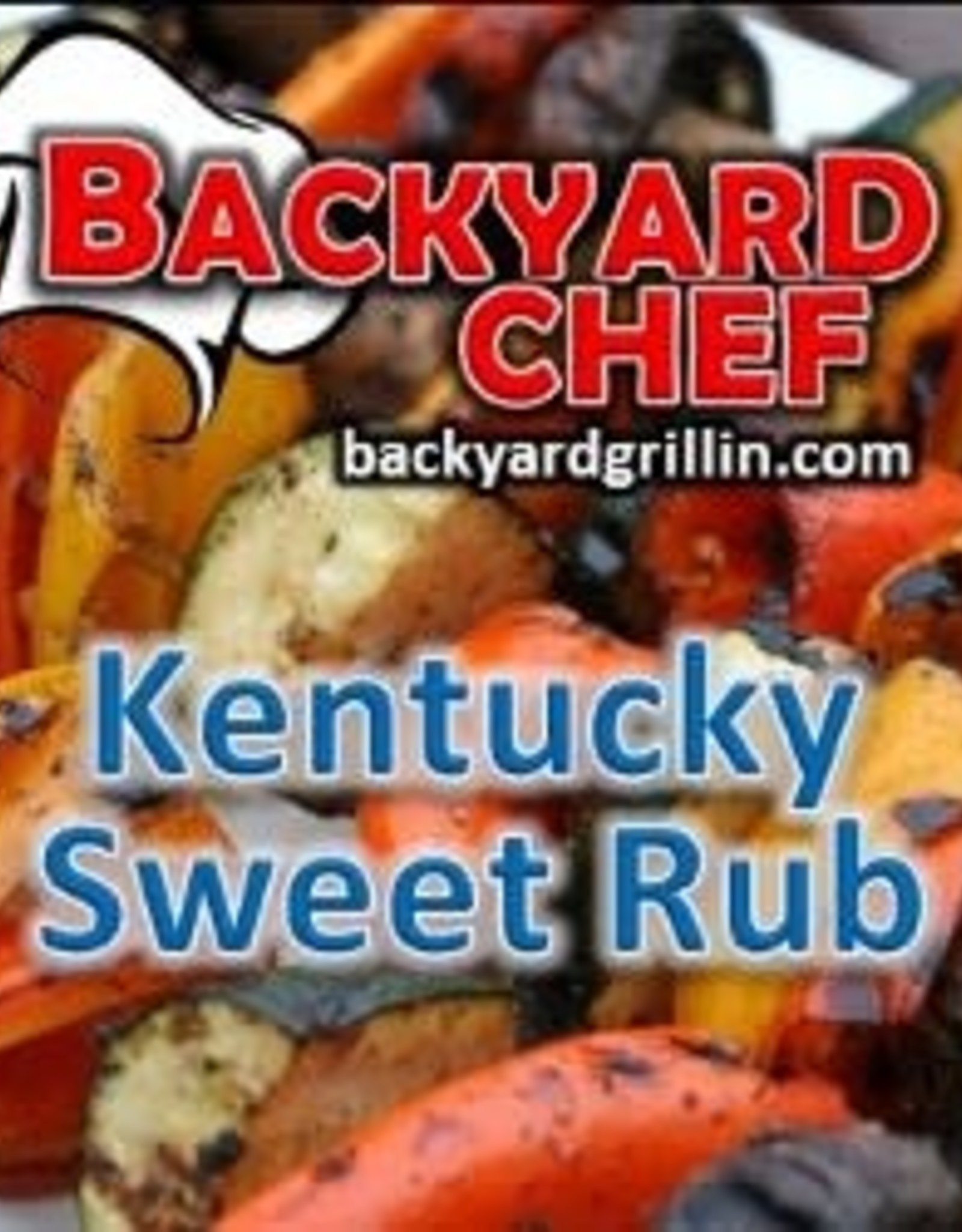 Backyard Chef Kentucky Sweet Rub - 13 oz.