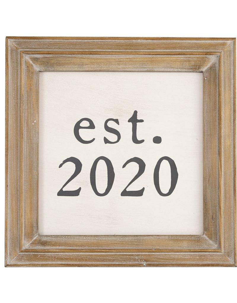 Mudpie Est. 2020 Plaque