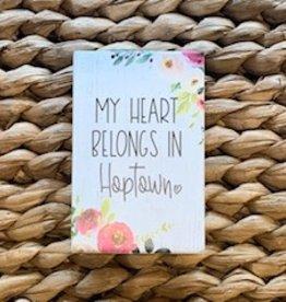 Heart Belongs to Hoptown Block
