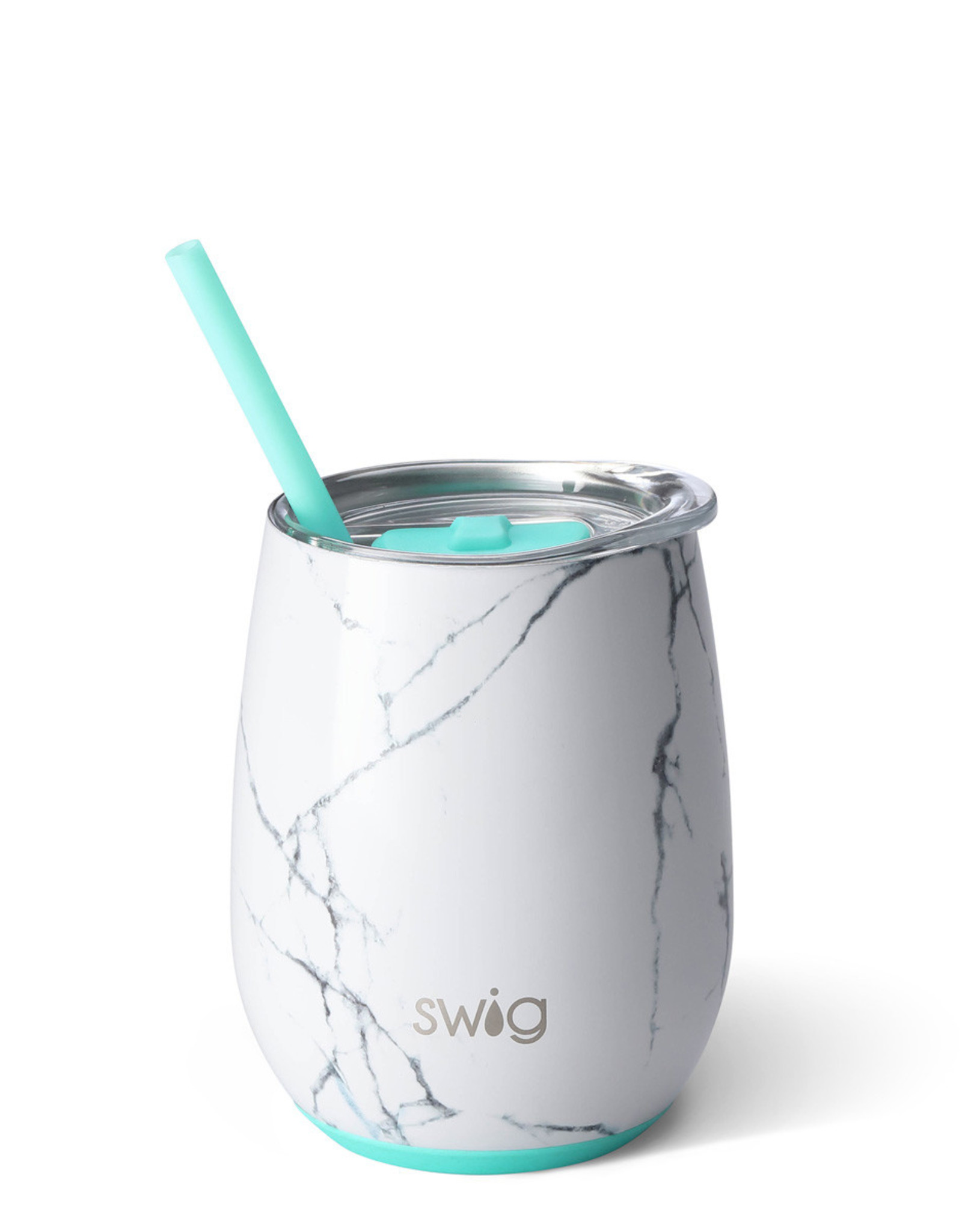Swig 14oz Stemless Wine Cup Marble Slab