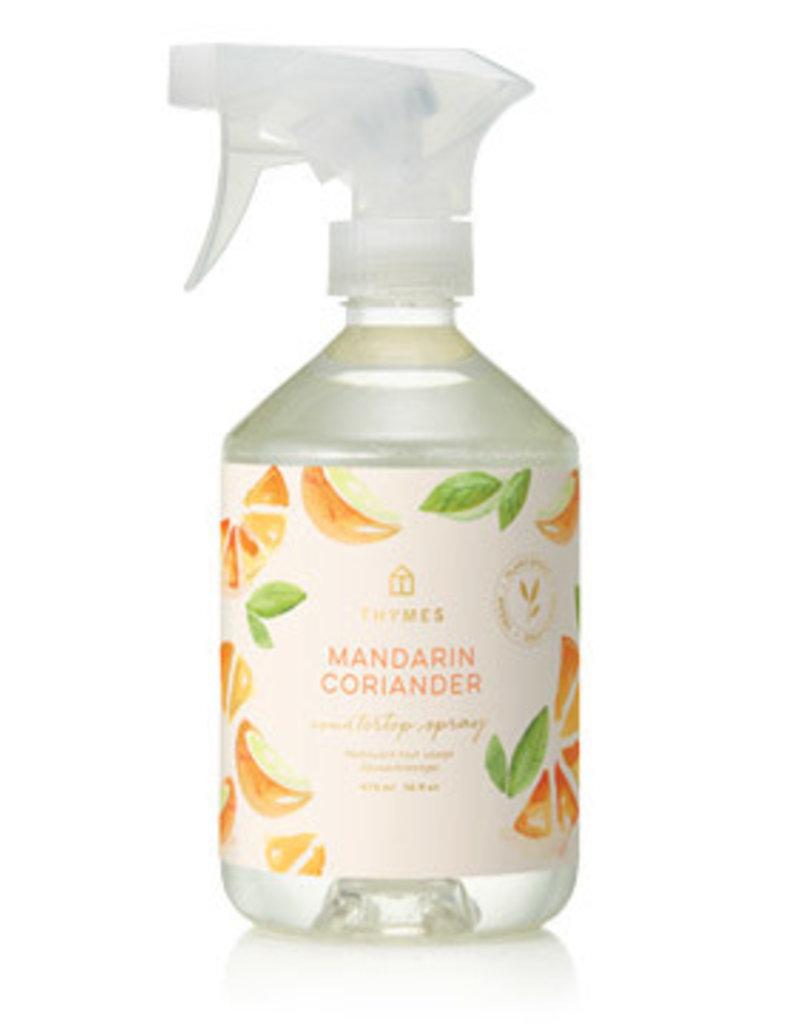 Thymes Countertop Spray - Mandarin Coriander, 16oz